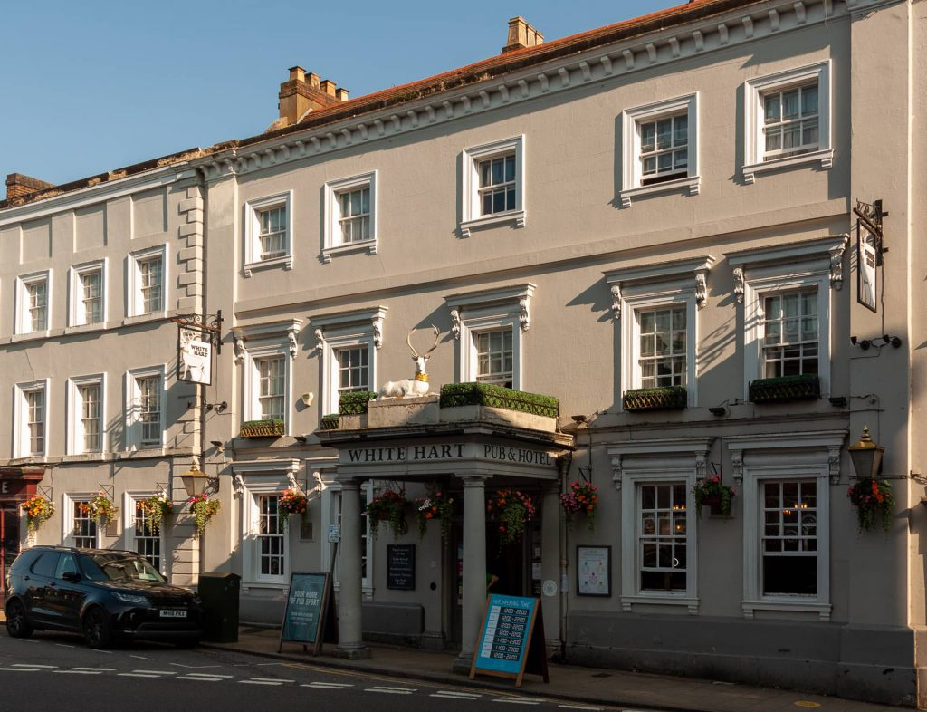 The White Hart Inn, off Market Square, Buckingham