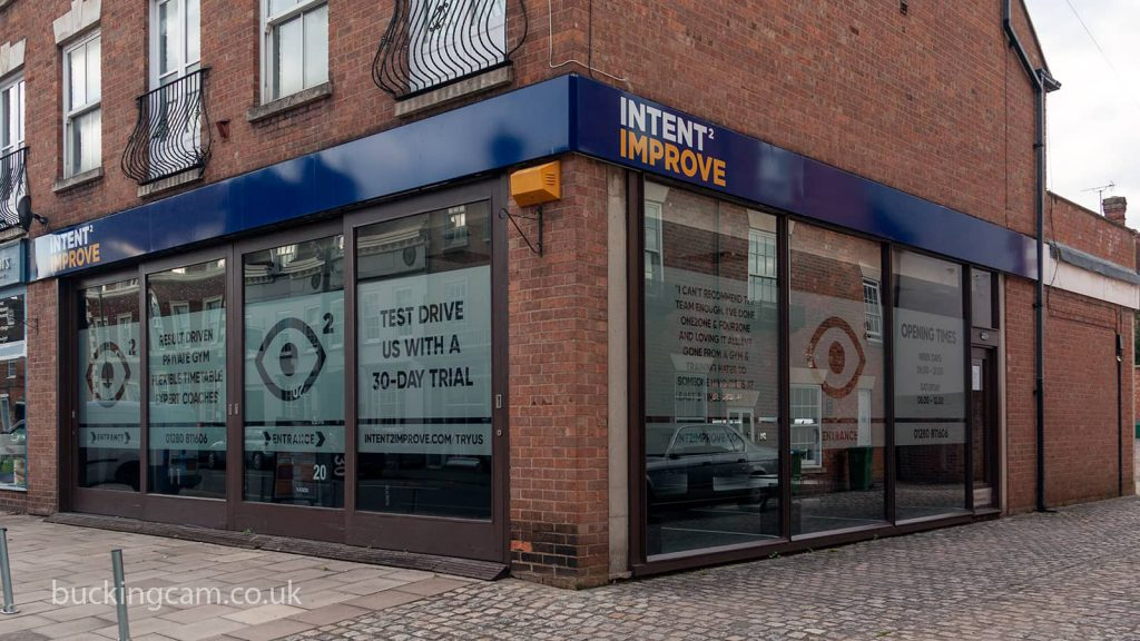 Intent2Improve gym on Castle Street in Buckingham